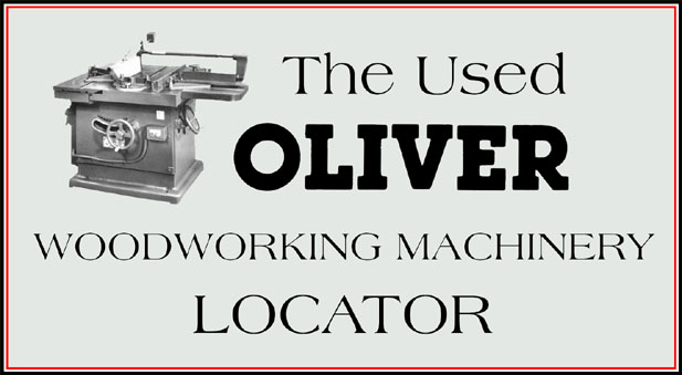 The Oliver Machinery Locator